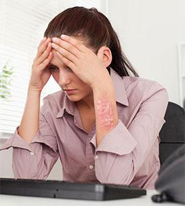 Как связанны стрессы и псориаз?